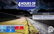 Live Stream: European Le Mans Series 2016 - RD5 4 Hours of Spa-Francorchamps